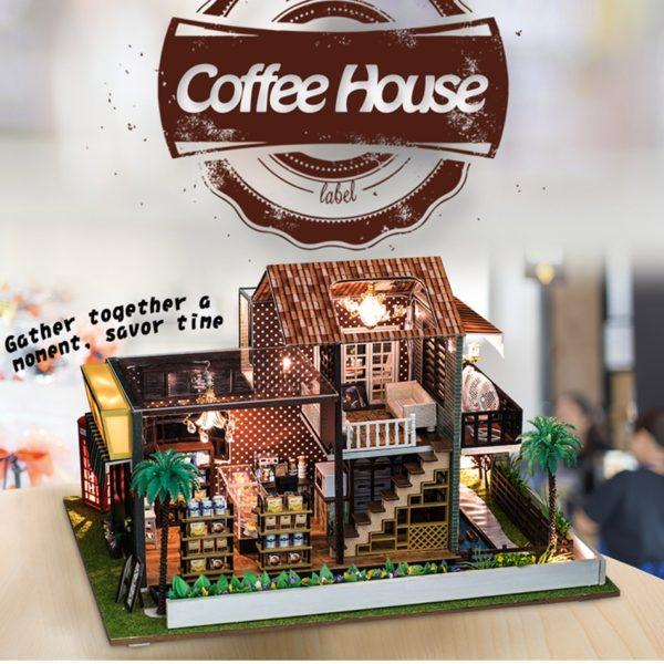 HTB1C mXbErrK1RkSne1q6ArVVXac 600x600A Little While DIY Miniature House