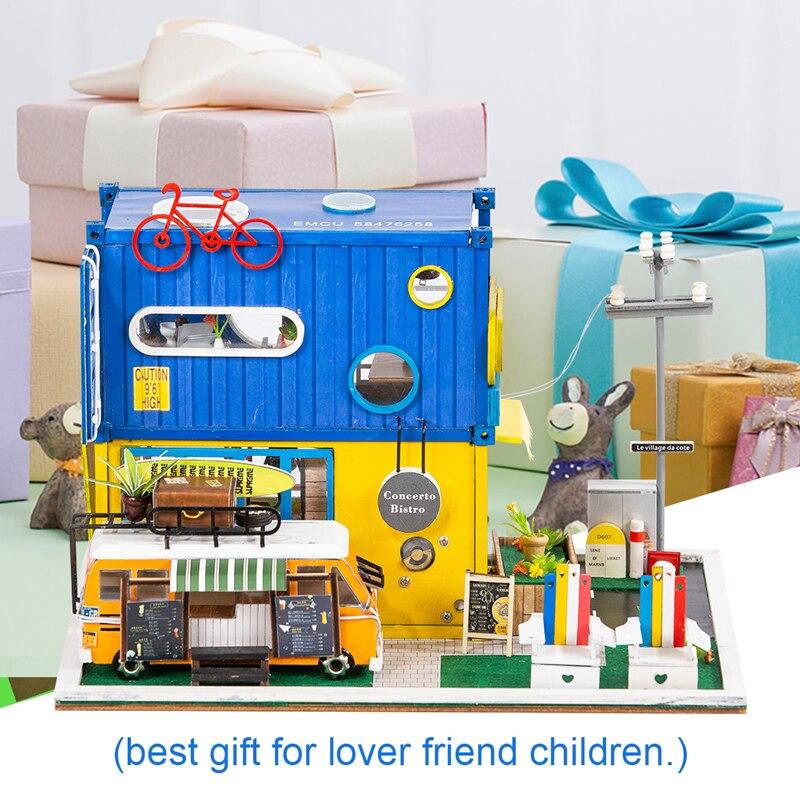 HTB1Fdc6cxiH3KVjSZPfq6xBiVXawHello Summer DIY Miniature Dollhouse Kit