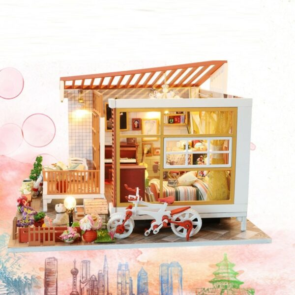 HTB1Fl4dayYrK1Rjy0Fdq6ACvVXaQWooden Cozy Dollhouse DIY Dollhouse Kit