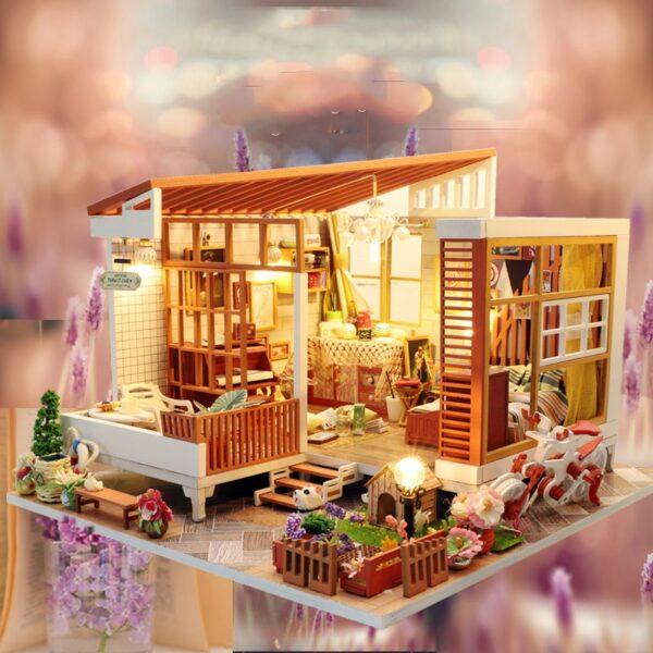 HTB1JJ4fatzvK1RkSnfoq6zMwVXaiWooden Cozy Dollhouse DIY Dollhouse Kit