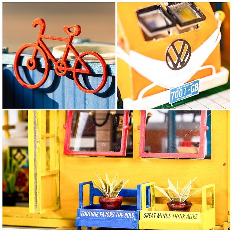 HTB1Kek8cEGF3KVjSZFvq6z nXXaUHello Summer DIY Miniature Dollhouse Kit