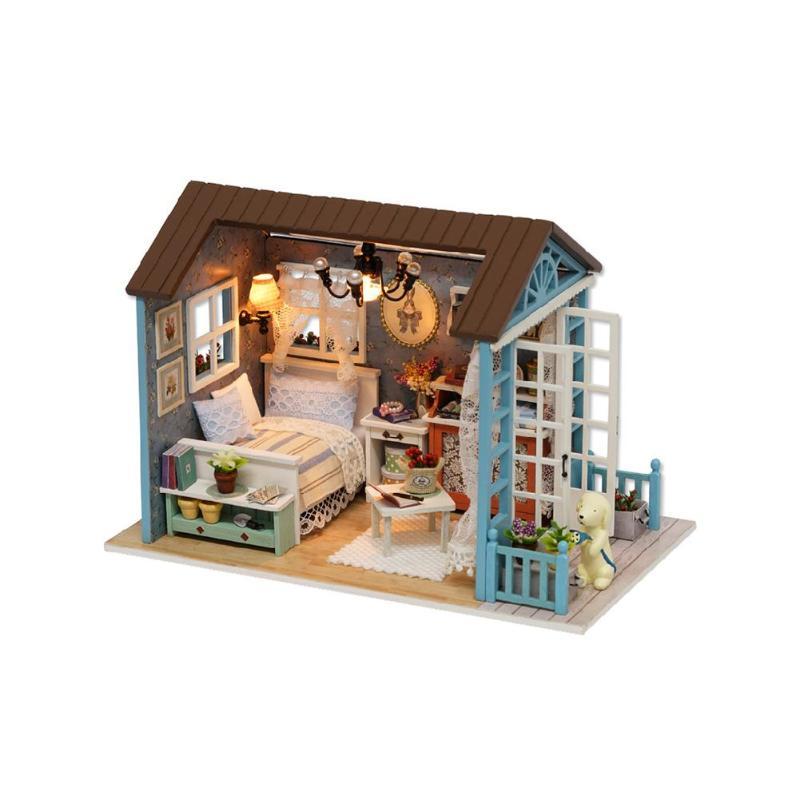 HTB1PcbLHFOWBuNjy0Fiq6xFxVXavMori Blue Time DIY Dollhouse