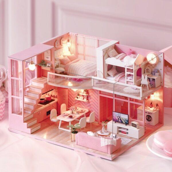 HTB1TQnRX0zvK1RkSnfoq6zMwVXaZDream Angels DIY Dollhouse