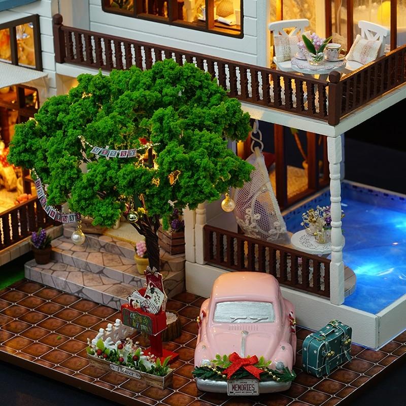 HTB1VOR9cv9TBuNjy0Fcq6zeiFXa9London Holiday DIY Miniature Dollhouse