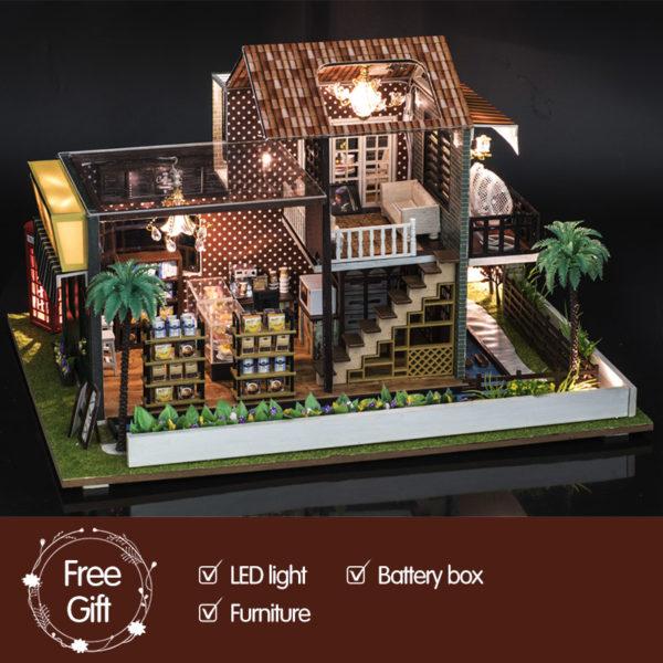 HTB1l5J1bsvrK1Rjy0Feq6ATmVXaK 600x600A Little While DIY Miniature House