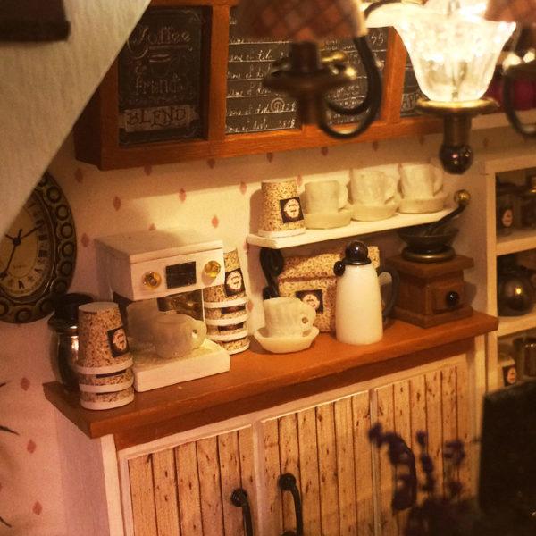 HTB1oTACcuuSBuNjSsplq6ze8pXa0 600x600Sweet Coffee DIY Miniature Dollhouse Kit