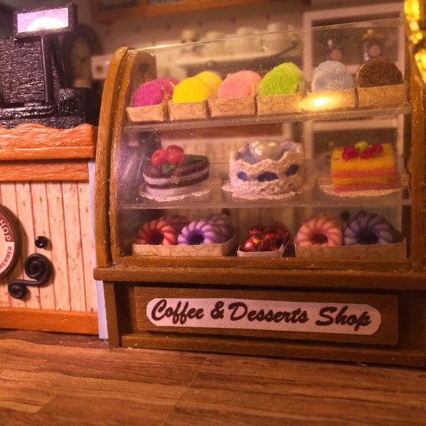 HTB1v.sAcpmWBuNjSspdq6zugXXaz 600x600Sweet Coffee DIY Miniature Dollhouse Kit