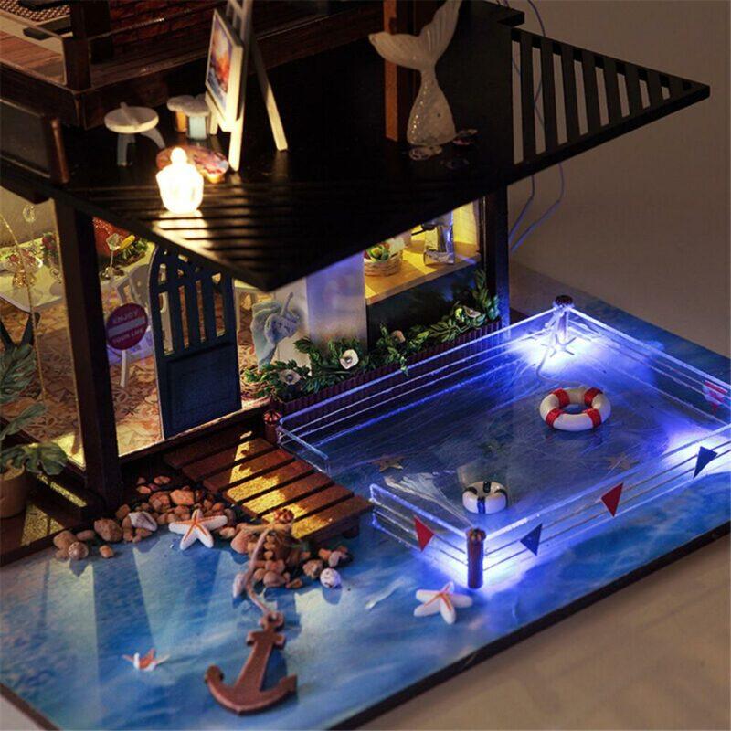 Ha7bf52fb8d7e41a4b0c6b6b90c810debECottage Valencia Coast Villa DIY Dollhouse