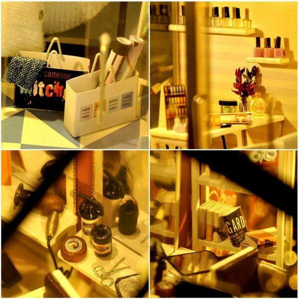Hair Saloon DIY Miniature Store Kit Hair Salon756c3b40ee814c8eaa3a0046e1472e67J