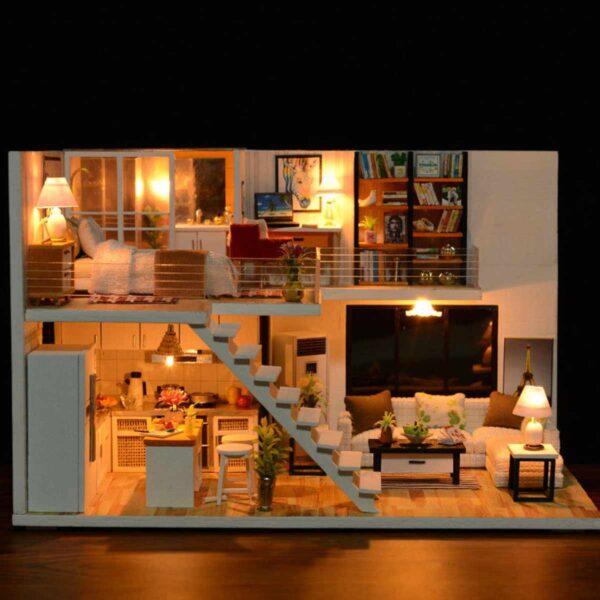 Happy Together DIY Miniature Dollhouse Kit8bb68180b2f84775b3bbaffb77697e4bk