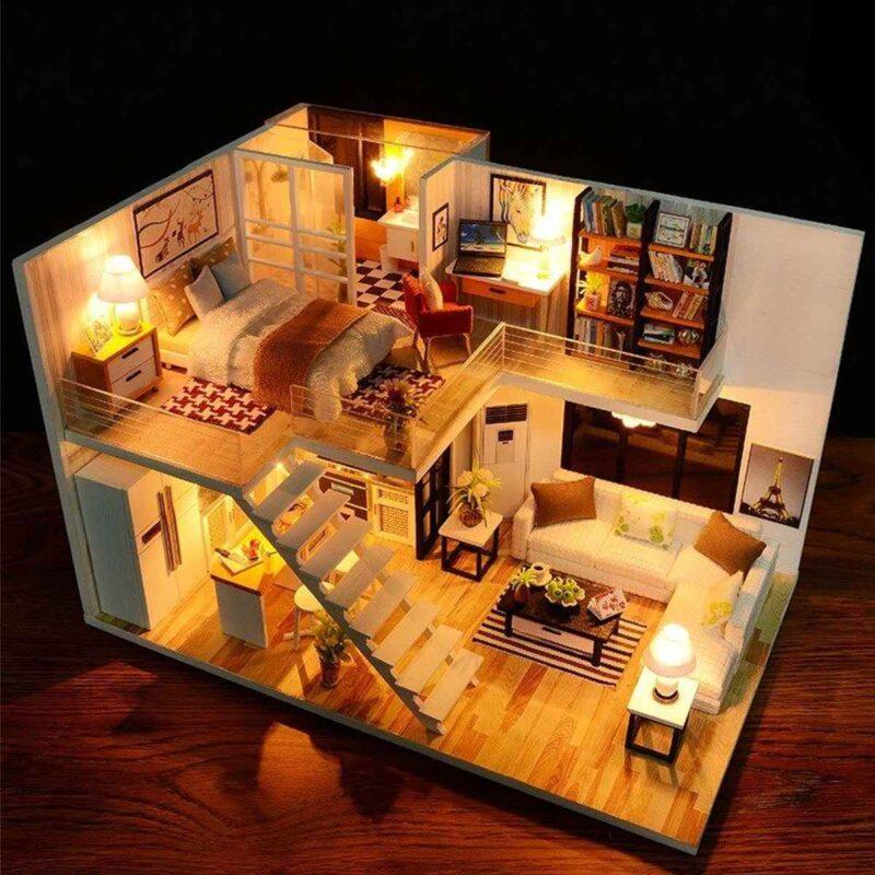Happy Together DIY Miniature Dollhouse Kit9de9ed68774b4cd3838e79092e6359c1k