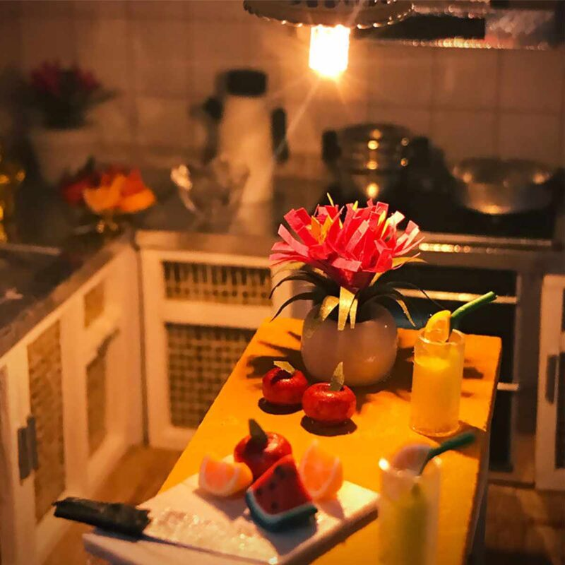 Happy Together DIY Miniature Dollhouse Kite4dab6a1201c4653b9d6c643c7d052b20
