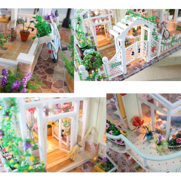 Hbbe2c4a3a86845cd946fc1c9dc013dc18 600x600Princess Villa DIY Miniature Dollhouse Kit