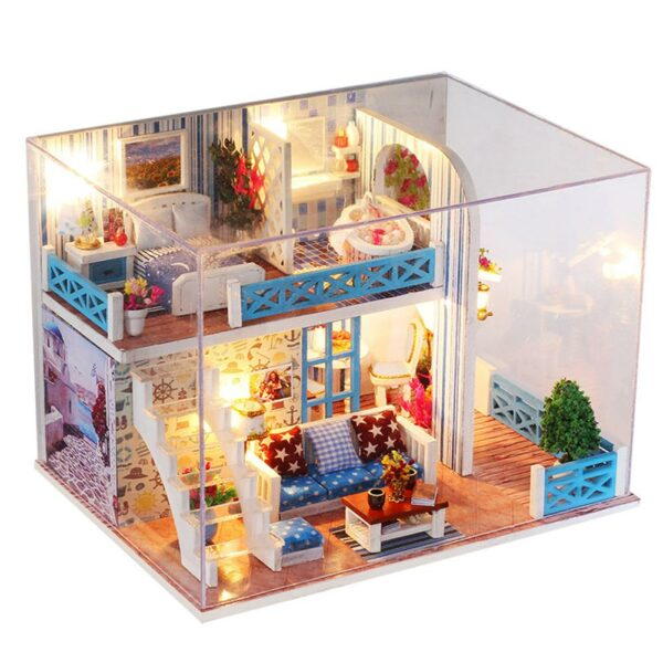 Hc536d6d34ed940a08a00b80f4490f950XSeaview Mini DIY Miniature House