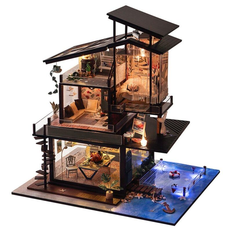 Hcf09174ae885497e8ed317254e05017dDCottage Valencia Coast Villa DIY Dollhouse