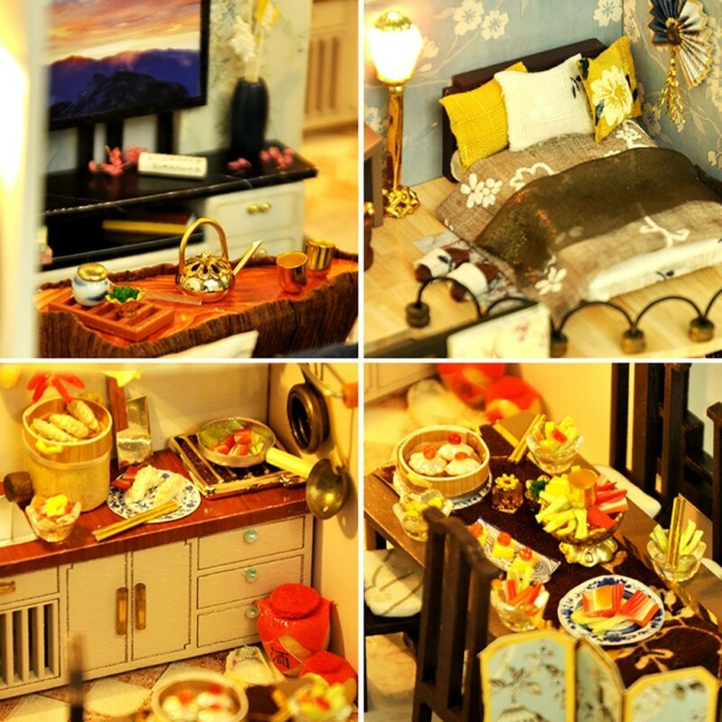 Hde50d43cf93943098137c5cc2b1b93f7ABamboo Shadow DIY Miniature House Kit