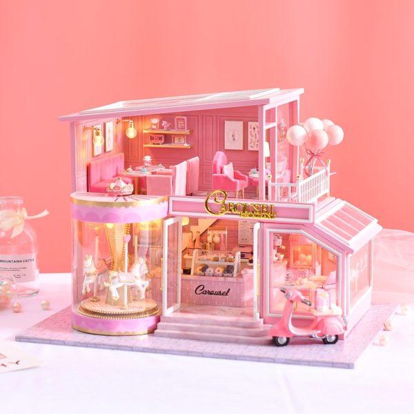 Hdf2179d245ca4b1393d1a3168ae258c7d 600x600Childhood Memory DIY Miniature Dollhouse Kit