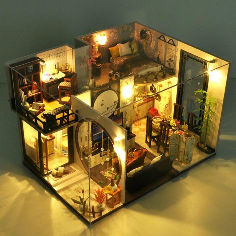 He4d1eff4130e4cc8811be7b3a3944191DBamboo Shadow DIY Miniature House Kit