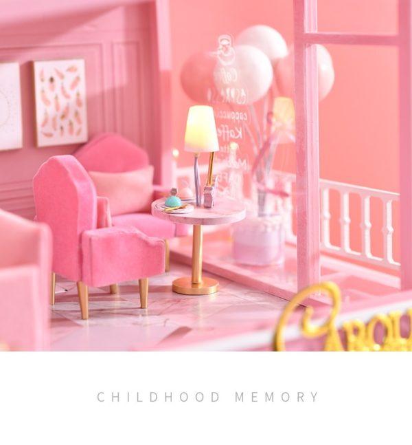 Hed005ca2c2b34ae68d5514a86377ea70T 600x647Childhood Memory DIY Miniature Dollhouse Kit
