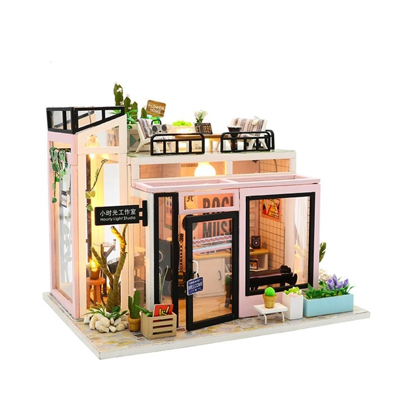 Hfebaaa3146b34fa5a1781275e236eca5xTime Studio DIY Dollhouse
