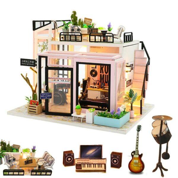 Hffec6729db8c485ea8d1feb610e9d6f5sTime Studio DIY Dollhouse