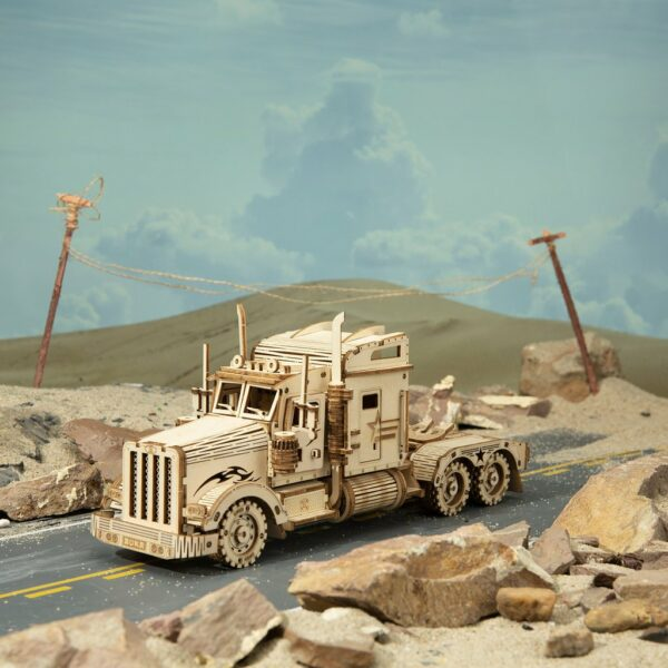 MC502 1 1024x1024Robotime MC502 Heavy Truck DIY Scale Model