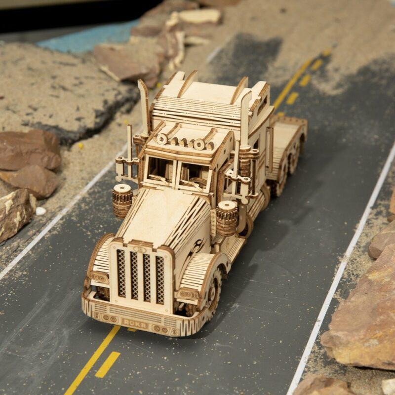 MC502 2 1024x1024Robotime MC502 Heavy Truck DIY Scale Model