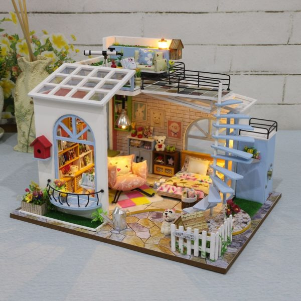 Moonlight Rooftop DIY DollhouseTB1qw9xac vK1Rjy0Foq6xIxVXaj 600x600 1