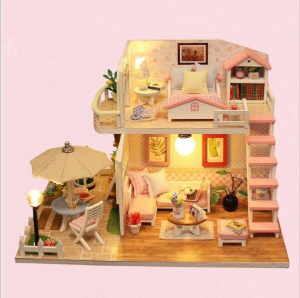 Pink Loft DIY Miniature Loft