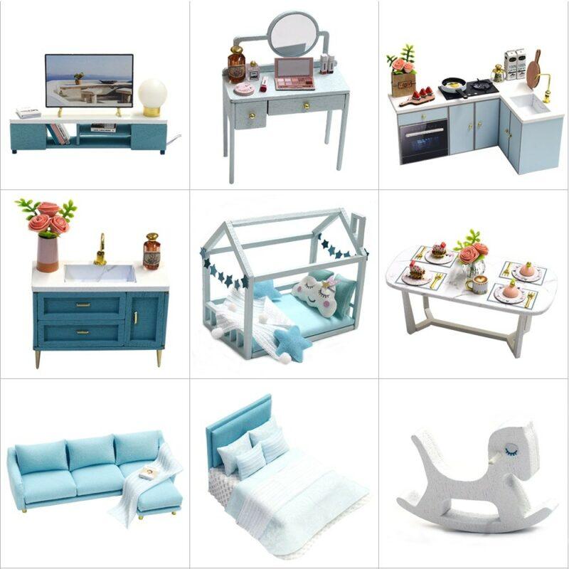 Poetic Life DIY Miniature Dollhouse Kitdbde6e281a664cfc8ee733fc1ad511bcR