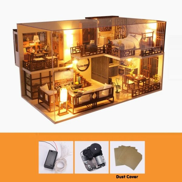 Quiet Time DIY Miniature House Kit28a9ccb163c14092a5bbfa123d3bfda3D