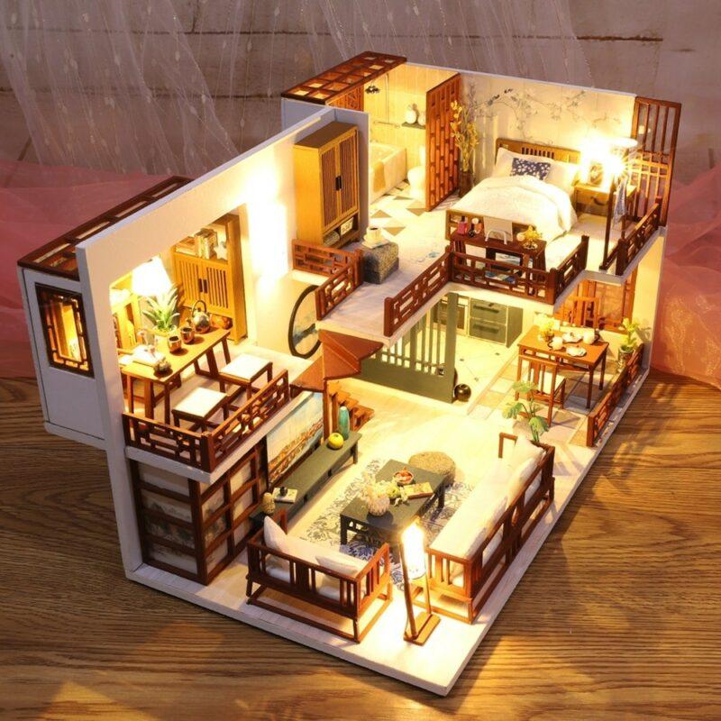 Quiet Time DIY Miniature House Kit3ddc817d24eb44fabdb943bd4f1542fae