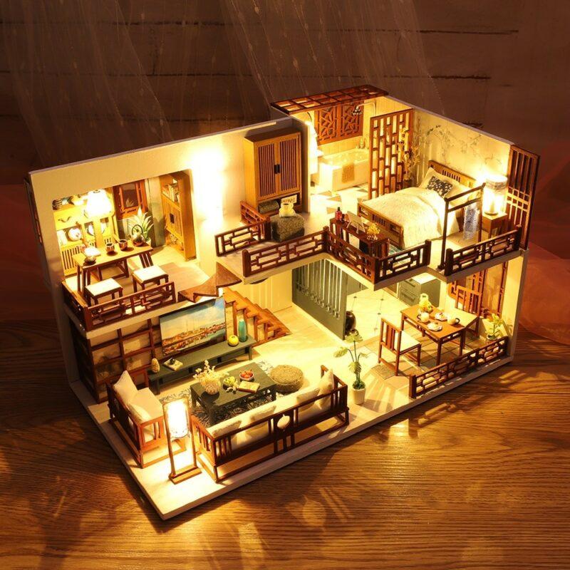 Quiet Time DIY Miniature House Kit70b3327fb0c640db95632946f21b10067