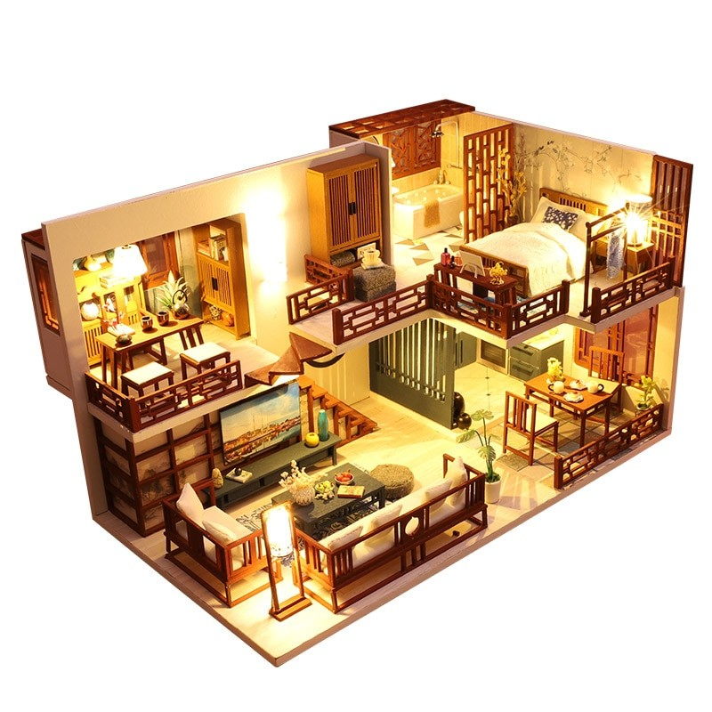 Quiet Time DIY Miniature House Kit9cda505c313f4a2b83a9d87130942734N