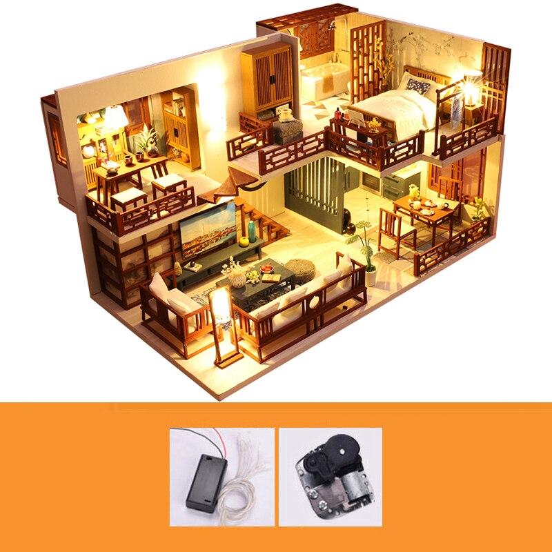 Quiet Time DIY Miniature House Kitc42eaa226ac747eca80f0453d98d6f953