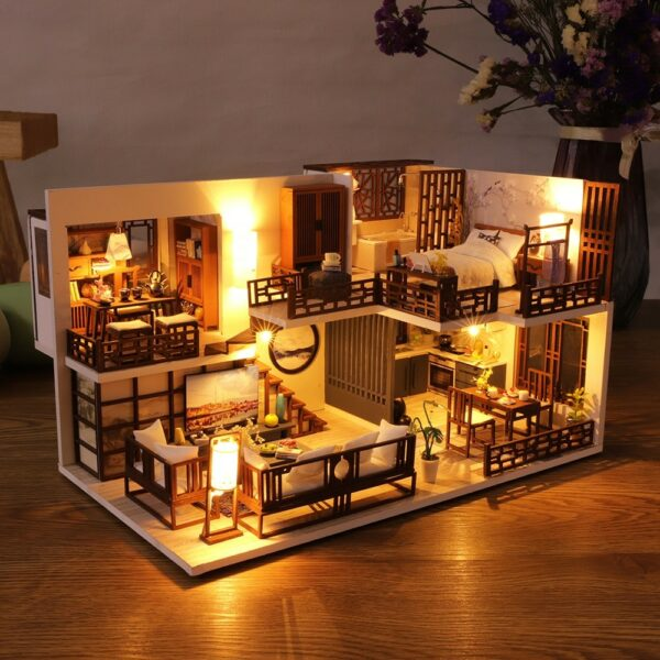 Quiet Time DIY Miniature House Kitda700ad051014a6e9c12a504449d3b88I