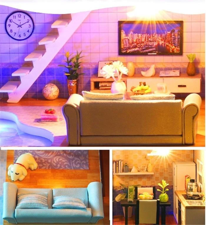 Revos Loft DIY Miniature House Kit house and music6b6c1d1e033749abaa6c5726d30a7fbeA