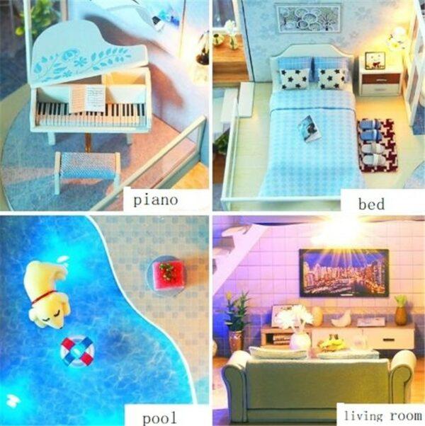 Revos Loft DIY Miniature House Kit house and