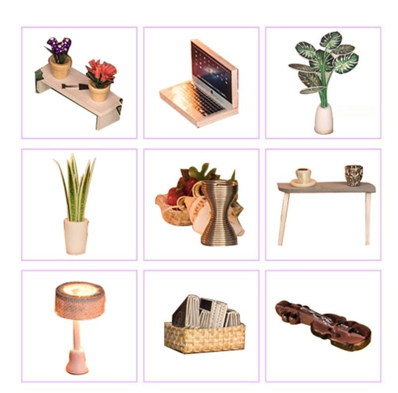 September Forest DIY Miniature House Kit Doll house4c731359ea014ce89784d061227b07949