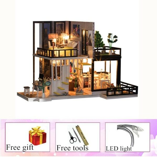 September Forest DIY Miniature House Kit Doll house8fc8e06dc1f24c23a623e07010b8ccd3C