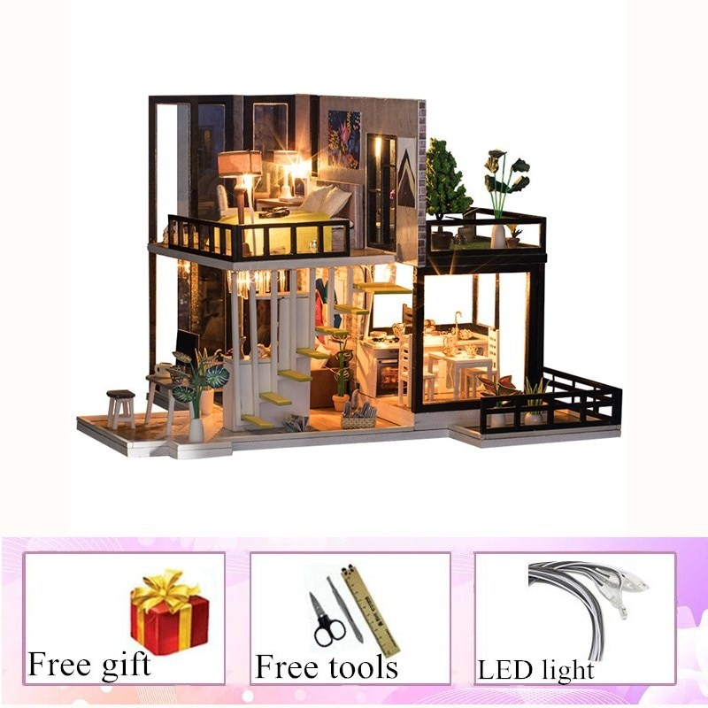 September Forest DIY Miniature House Kit Doll house8fc8e06dc1f24c23a623e07010b8ccd3C