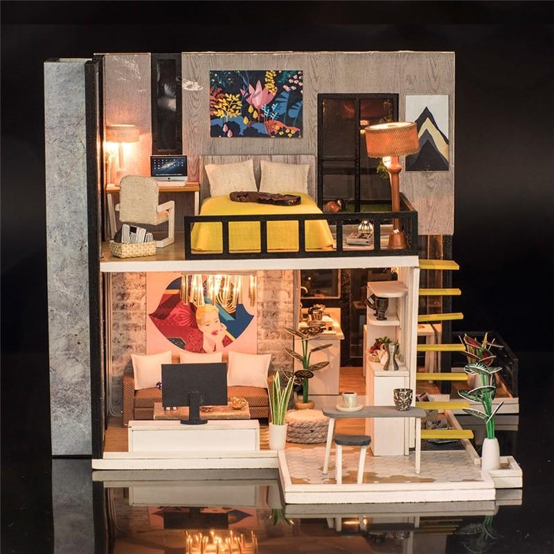 September Forest DIY Miniature House Kit Doll