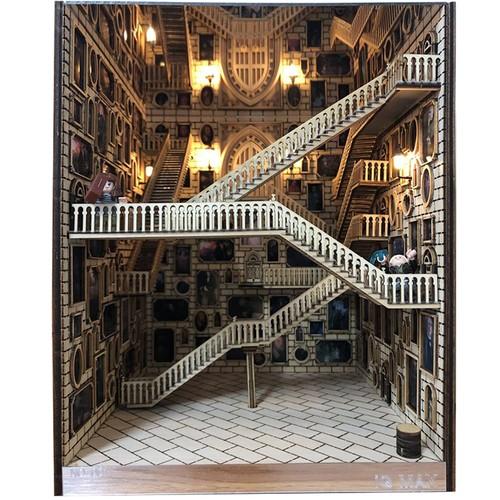 Spiral Stairs Miniature Booknook Spiral staircase464dd1176ff74492b712d5b7dd14f309K