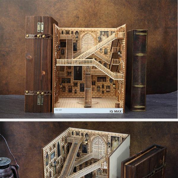 Spiral Stairs Miniature Booknook Spiral staircase6e0e85cb057f48ebbfcf1c903d3116a9t 600x600 1