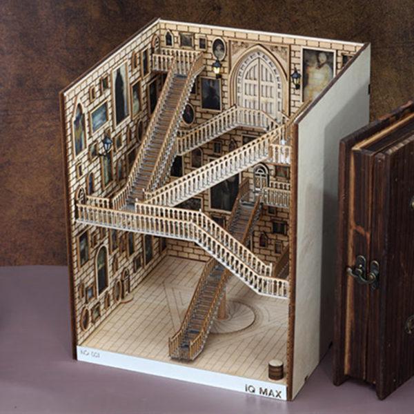 Spiral Stairs Miniature Booknook Spiral staircase70e4745ca05843cca2e7777f66cc5681Y 600x600 1