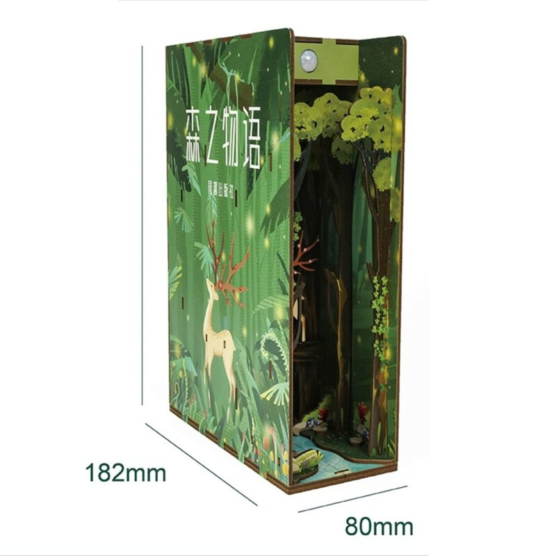 Story of Forest Miniature Booknookc9953661a5fa4971a46e4686dcbb03a8n