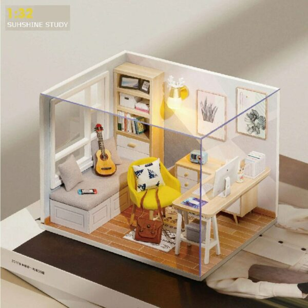 Sunshine Study DIY Miniature Room Kit4b78119a708747d5a7ae59bcdfe1cca2N