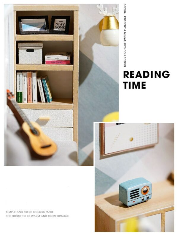 Sunshine Study DIY Miniature Room Kit515fa60135644e5dab9c31f09615768eO