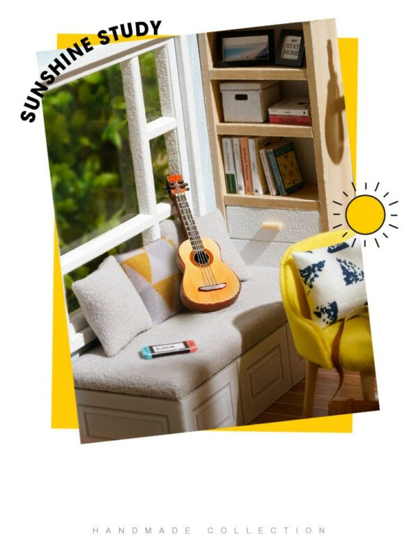 Sunshine Study DIY Miniature Room Kitbe4cd15228ef4a248fa4a9ffed19a106w
