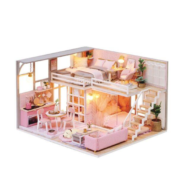 The Girlish Dream DIY Miniature Dollhouse Kit0556445c557243958abf61125b59c11aThe Girlish Dream DIY Miniature Dollhouse Kit